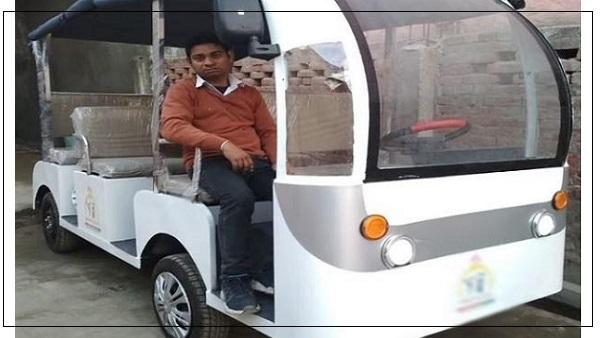 azharuddin solar cart 2021