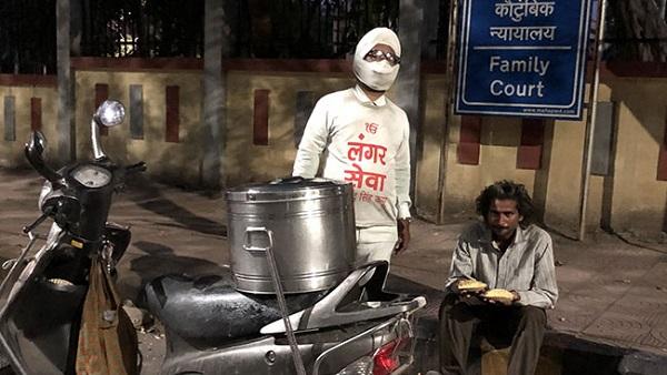 sardarji offering food