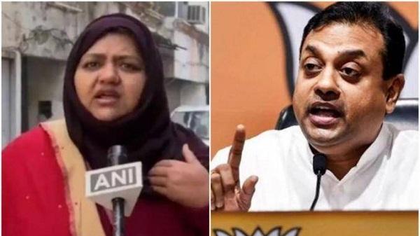 sumaiya rana and bjp leader sambit patra