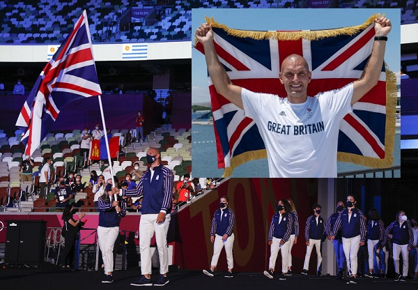 sbihi becomes first muslim to carry british flag