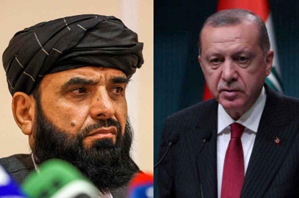 turkey president tayyip erdogan taliban