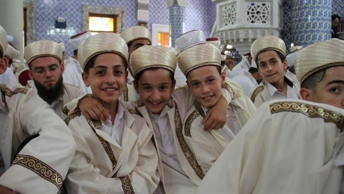 graduation ceremony50 peopleho completed memorisation Quran in Turkey