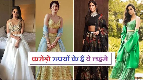 sara ali khan latest lehanga